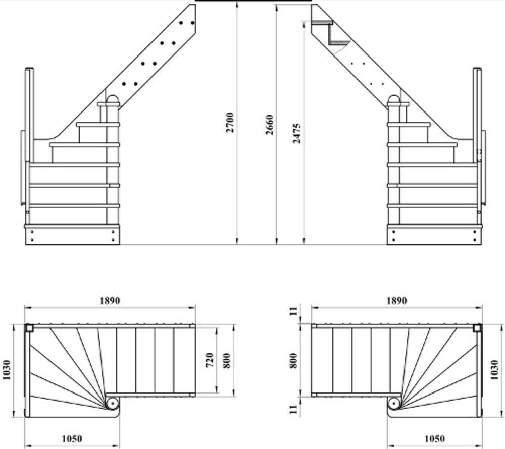 Лестница на мансарду своими руками схема 67